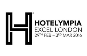 Hotelympia, London 29.02.-03.03.2016 Halle/Stand: 3061