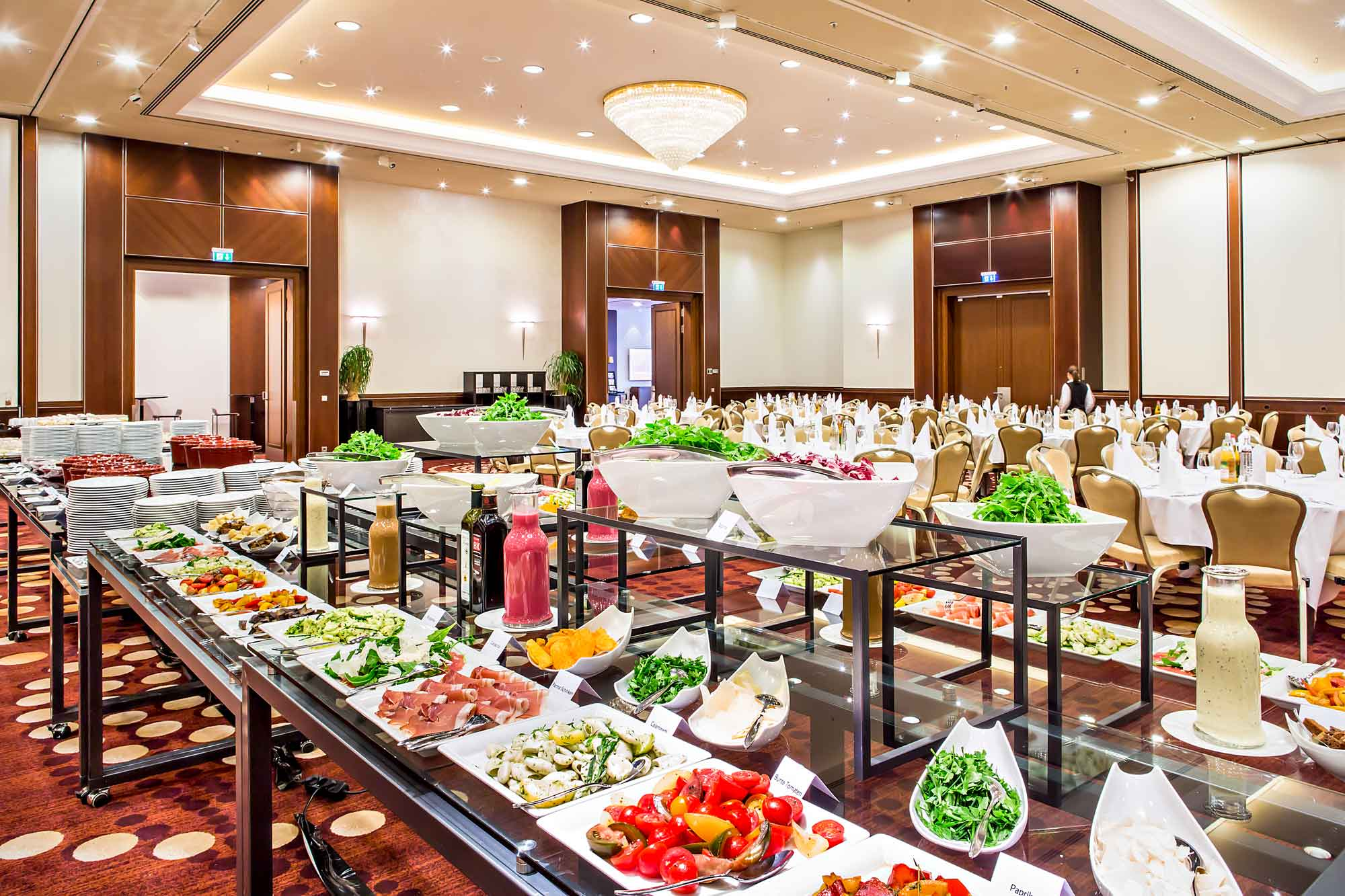 Magnificent Buffet Setup Ventadesign Interior Design Ideas Gentotryabchikinfo