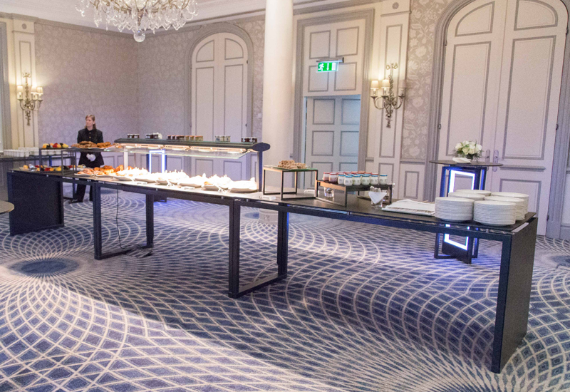 Modular buffet equipment transforms The Savoy's catering operation