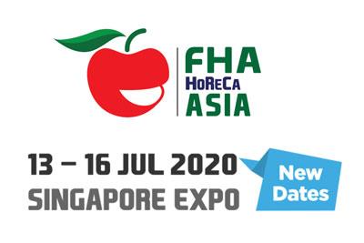 FHA-HoReCa to 13-16 July 2020 at the Singapore Expo