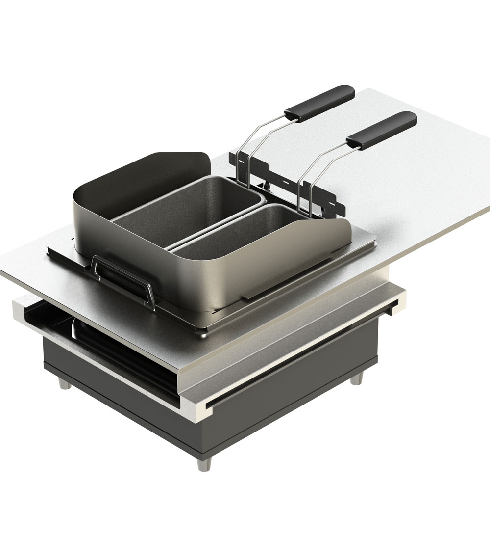 ELEMENTS – Live Cooking Station: Frying-Set