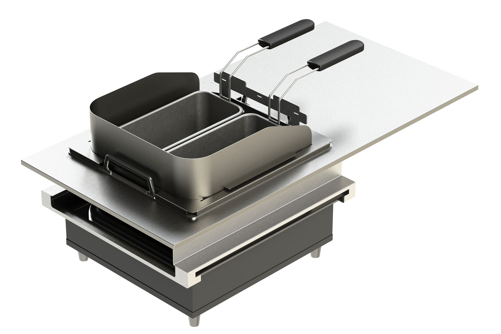 ELEMENTS – Live Cooking Station: Frying-Set