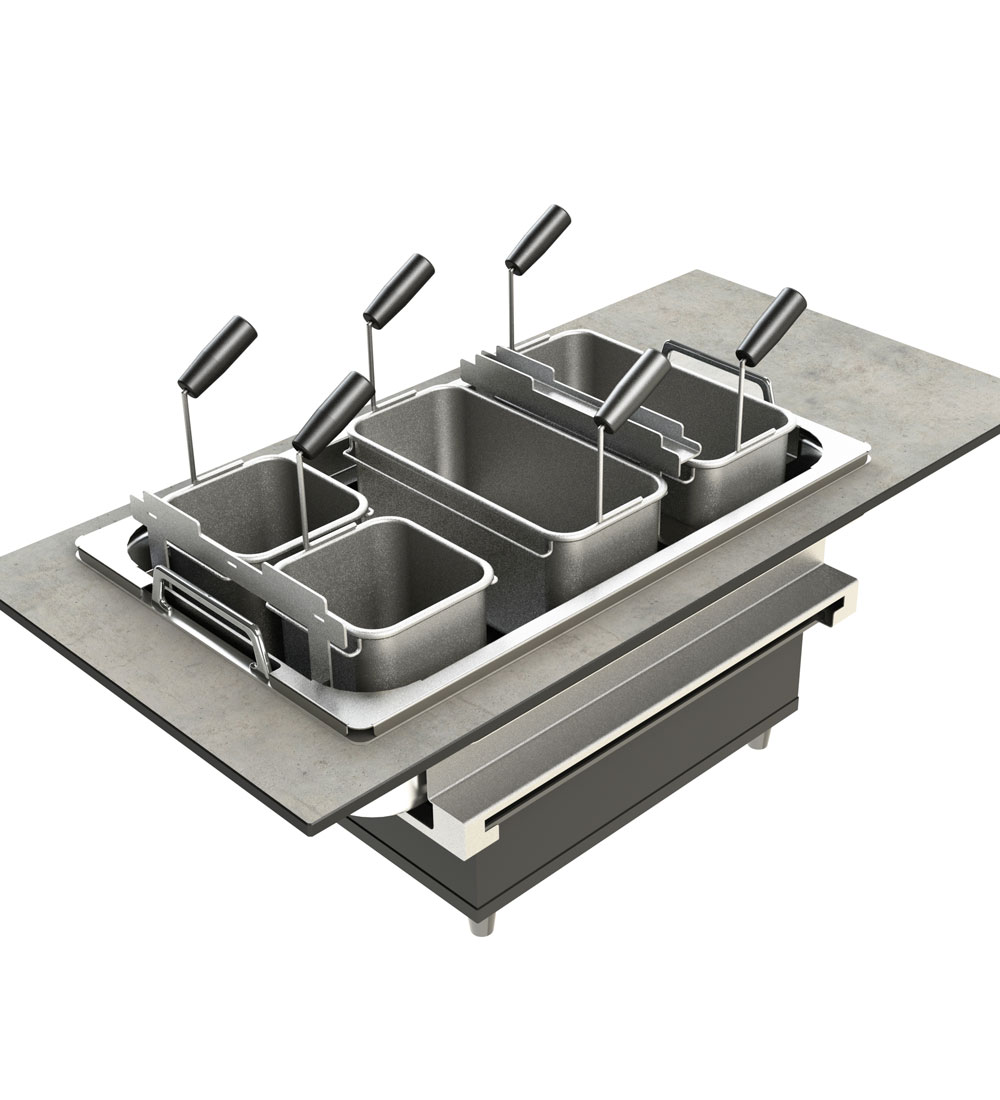 ELEMENTS – Live Cooking Station: Pasta-Set
