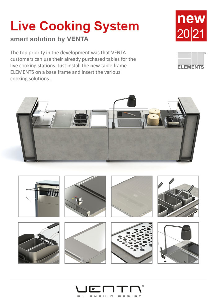 ELEMENTS LIVE COOKING SYSTEM